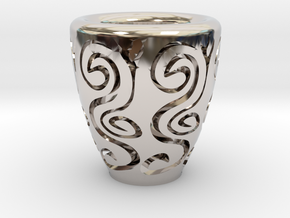 Orient coffee cup in Platinum