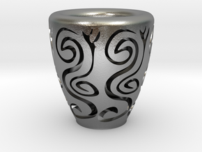Orient coffee cup in Natural Silver