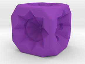 Dice81 in Purple Processed Versatile Plastic