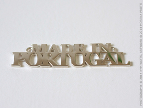 Made in PORTUGAL Pendant in Polished Silver