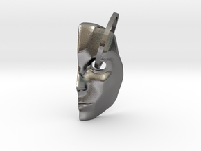 Mask1 in Polished Nickel Steel