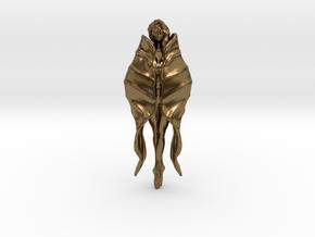 Girl Blossom Pendant in Natural Bronze