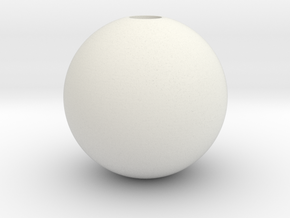 DRAW HC ornament - color pattern C in White Natural Versatile Plastic