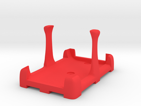 Battery Mount (for Fromeco 5200) in Red Processed Versatile Plastic