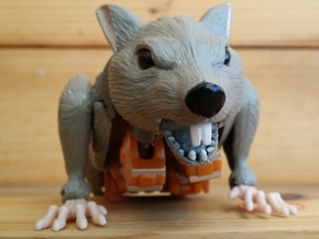 Rattrap's Really Ratlike Teeth in White Strong & Flexible