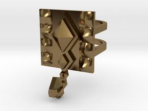 SacredScorpio ring size 8 U.S. in Polished Bronze