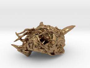 Hannya version 2 in Natural Brass