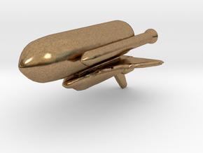 SPACE SHUTTEL II in Natural Brass