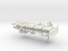"""Team Falchion"" 3mm Tracked Armor Sampler in White Natural Versatile Plastic"