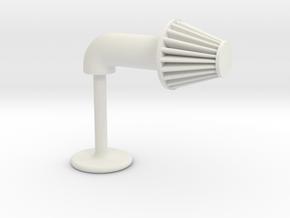 Aftermarket Intake Cufflink in White Natural Versatile Plastic