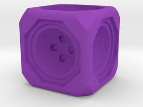 Dice86 in Purple Processed Versatile Plastic