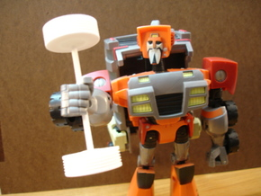 Sunlink - Animated Wrecking Axle in White Strong & Flexible