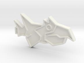 Ship #11 in White Natural Versatile Plastic