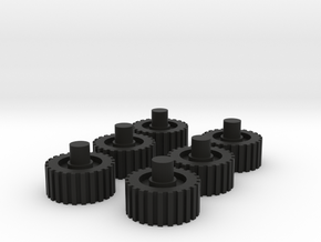 Kreon Nemesis Prime Wheels in Black Natural Versatile Plastic