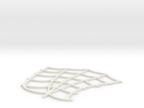 Spider-Man Right Palm Webbing (fits kenlandrum pri in White Natural Versatile Plastic