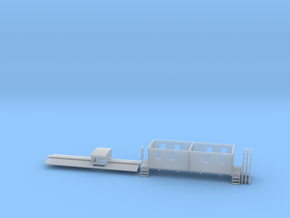 N Little Woody L&N Caboose in Smooth Fine Detail Plastic
