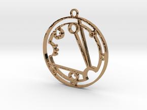 Cassaundra - Necklace in Polished Brass