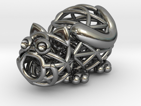 Caty 2.0 in Polished Silver
