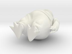 Monster01 in White Strong & Flexible