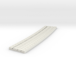 P-9-165st-long-y-curved-inside-1a in White Natural Versatile Plastic