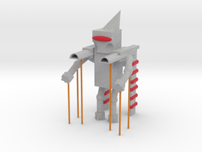 Model Robot in Full Color Sandstone