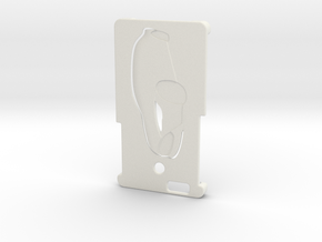 Iphone 6 Case (Tesla-touch) in White Natural Versatile Plastic