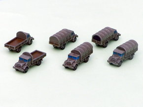 German Ford G 398 3to Truck 1/285 6mm in Frosted Ultra Detail