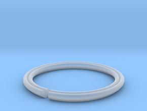 Secret Hidden Heart Ring (Size 7) in Smooth Fine Detail Plastic