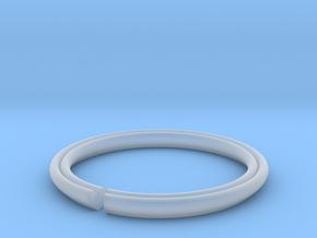 Secret Hidden Heart Ring (Size 4) in Smooth Fine Detail Plastic