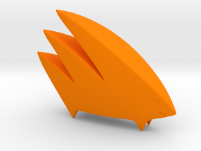 Yamaarashi (Solid) in Orange Processed Versatile Plastic