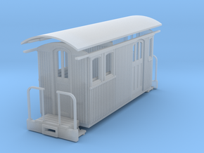 Sn2 Short round roof combine in Smooth Fine Detail Plastic