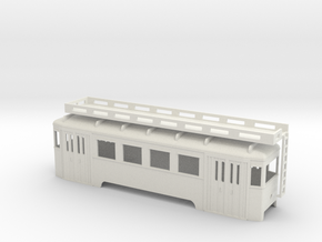 nt Wiener Stadtbahn Arbeitsbeiwagen ohne Gerüst in White Natural Versatile Plastic