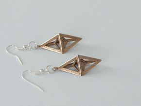 Earrings 1 in Stainless Steel