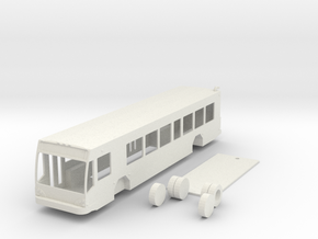 HO scale Gillig low floor BRT bus in White Strong & Flexible