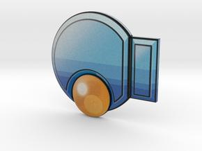 Knuckle Badge in Full Color Sandstone