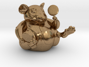 The Candy Mouse Color Version in Natural Brass