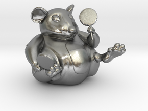 The Candy Mouse Color Version in Natural Silver