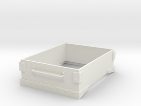 Gn15 small 4ft wagon top in White Strong & Flexible