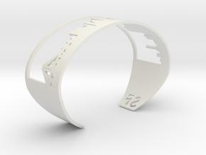 Bracelet Sf Skyline in White Natural Versatile Plastic