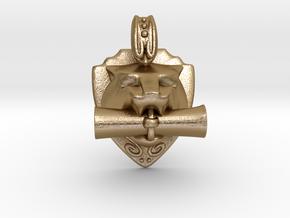 TigerKnowledge in Polished Gold Steel