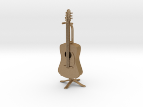 Guitar in Matte Gold Steel