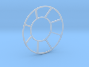 YT1300 MPC TURRET WELL WINDOW in Smooth Fine Detail Plastic