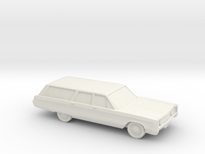 1/87 1967 Chrysler Town And Country in White Natural Versatile Plastic