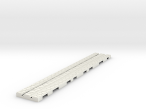 P-9st-long-straight-1a in White Natural Versatile Plastic