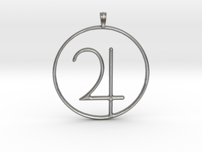 JUPITER Planet symbolism Jewelry Pendant in Natural Silver