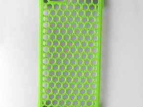 iPhone 6 shell Honeycomb in Green Strong & Flexible Polished