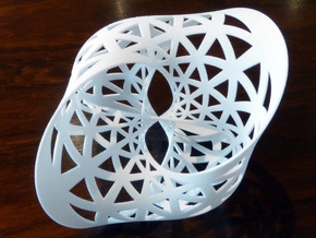 Seifert surface for (3,3) torus link in White Natural Versatile Plastic