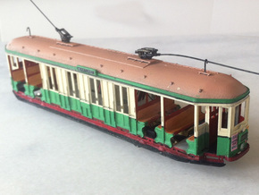 Sydney O Class Tram HO 1:87 in Smooth Fine Detail Plastic