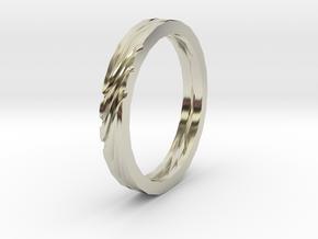 SWIRL ring | size: 6.5 in 14k White Gold