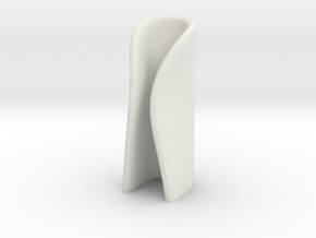 candle holder medium in White Natural Versatile Plastic